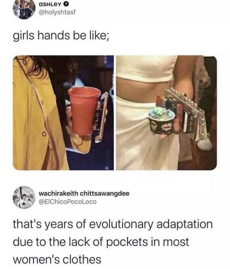 girls hands be like meme