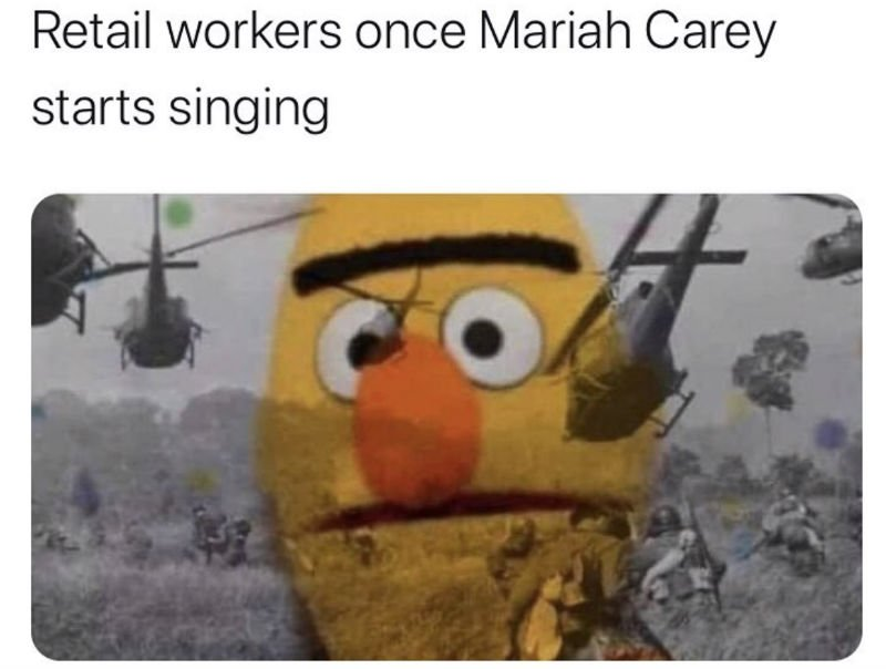 retail workers once mariah