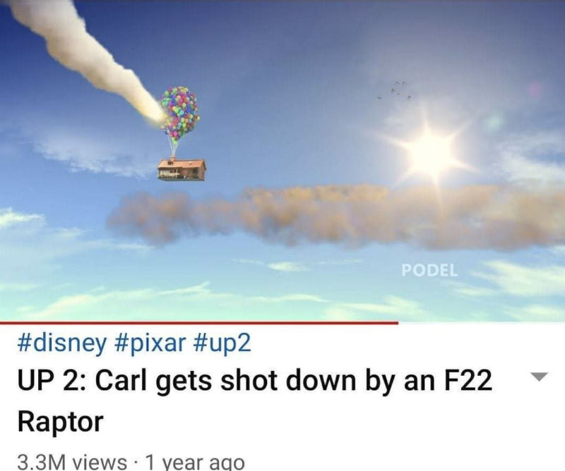 carl gets shot down