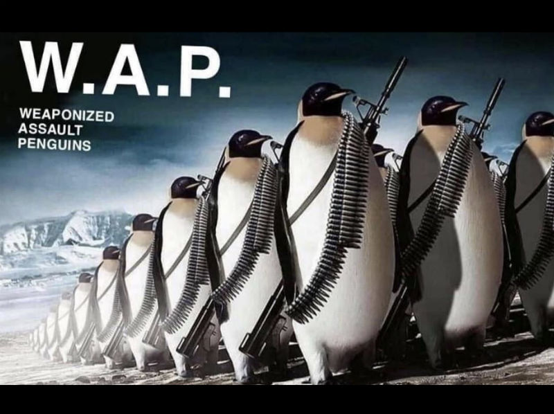 wap weaponized assault penguins