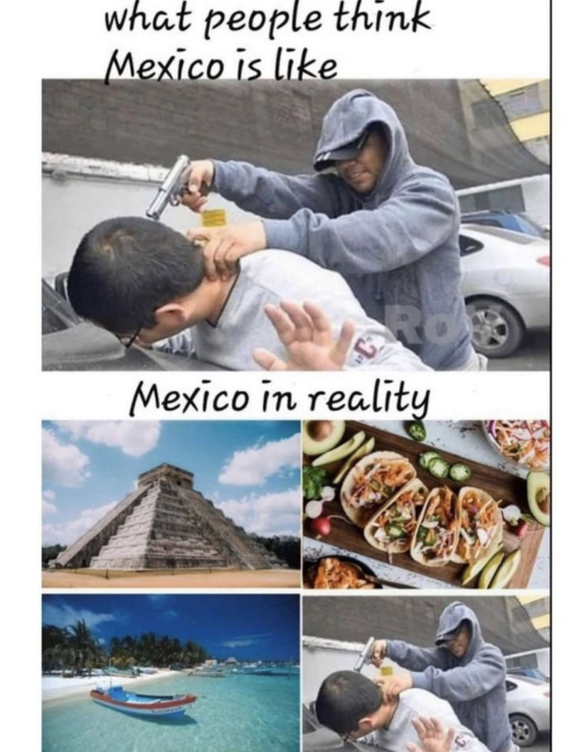 what people think mexico is like