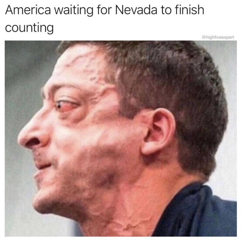 america waiting for nevada to stop counting
