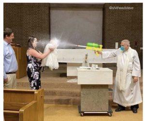 Babies First Baptism 2020 – Meme