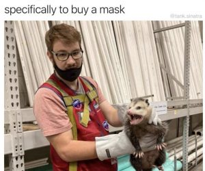 Being Thrown Out Of Lowes For Not Wearing A Mask – Meme