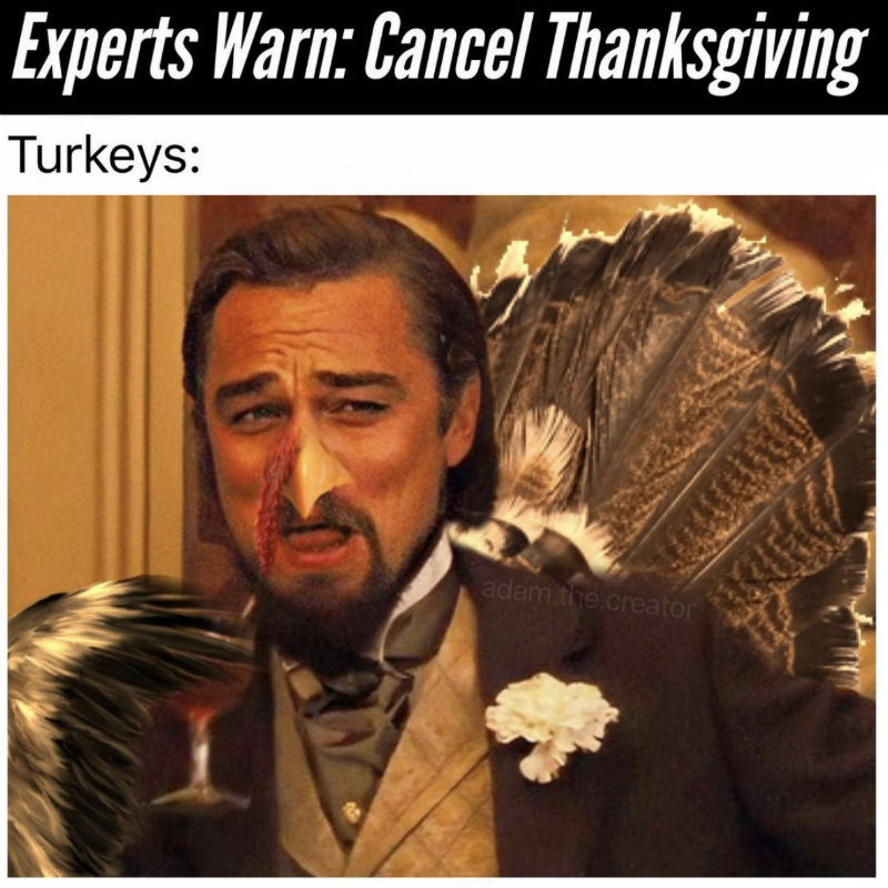 cancel thanksgiving meme