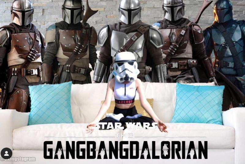 gangbangdalorian meme