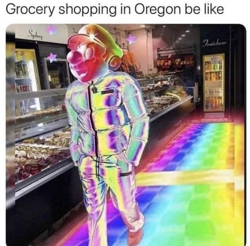 grocery shopping in oregon
