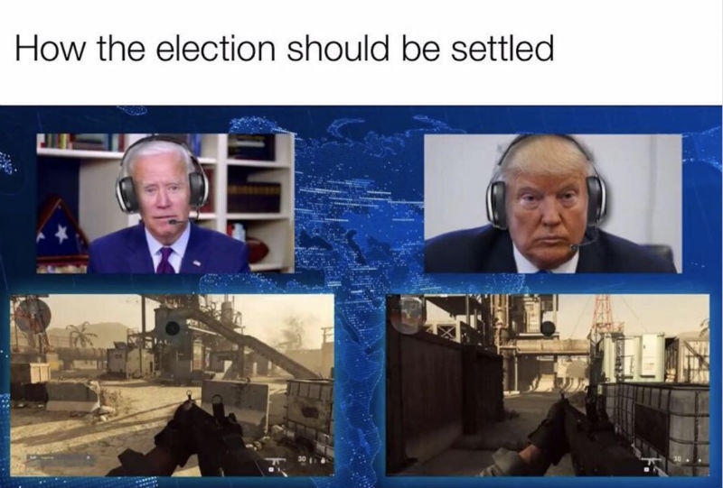 how the election should be settled