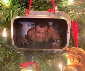 Die Hard Christmas Ornament – It's that time of the year again! Celebrate it with this handmade ornament of the best Christmas movie ever!