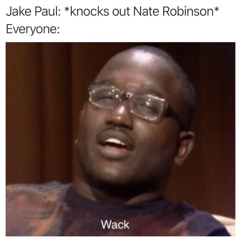 jake paul knocks out nate robinson