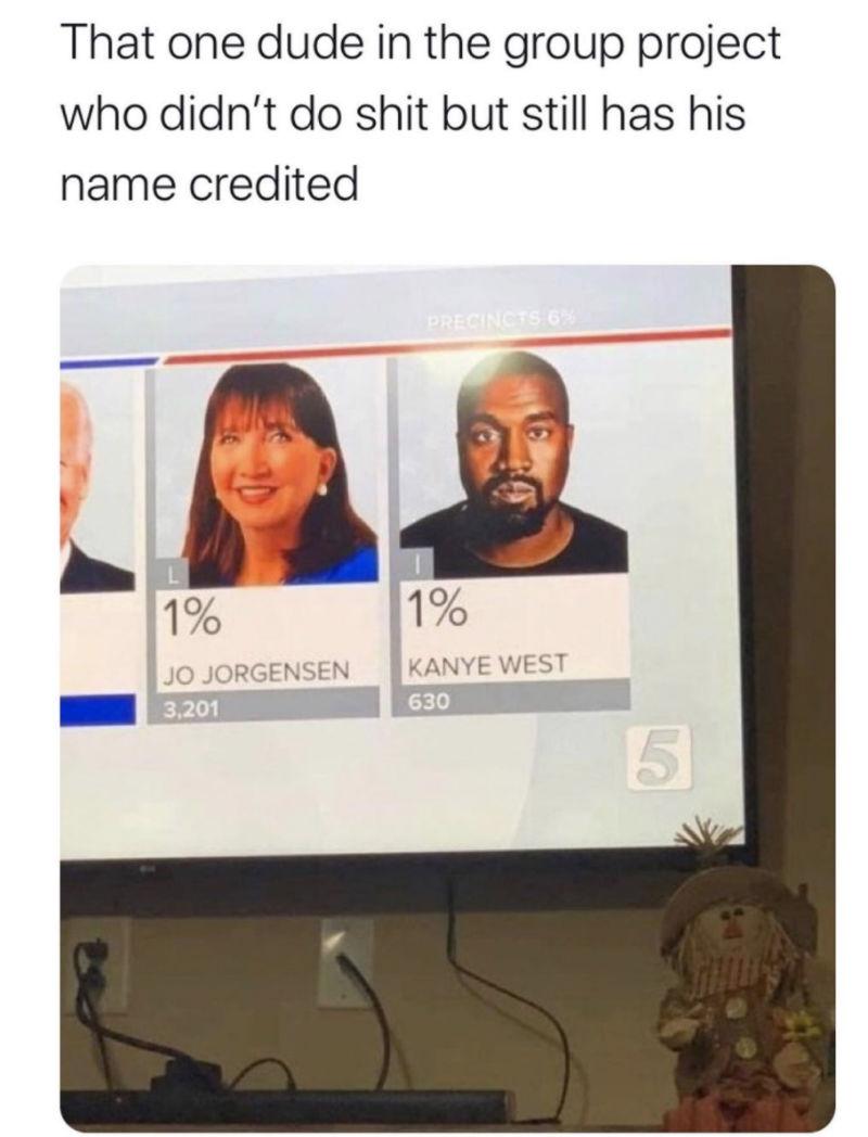 kanye election meme