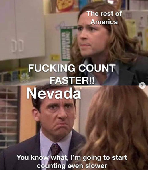 nevada count faster