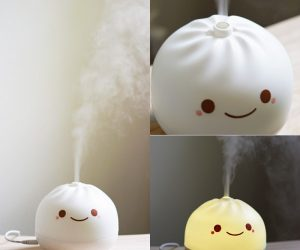 Dumpling Air Purifier – This cute little dumpling filters pollen and dust to keep your air fresh!