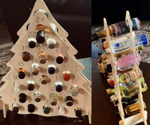 Mini Shooter Advent Calendar – Advent calendar for mini liquor shooters!