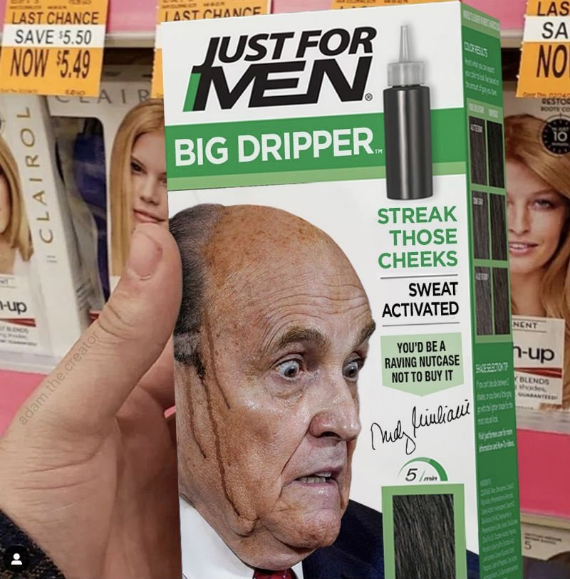 rudy giuliani just for men