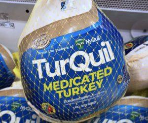 Turquil Medicated Turkey – Thanksgiving Meme