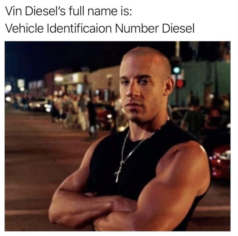 vin diesels full name