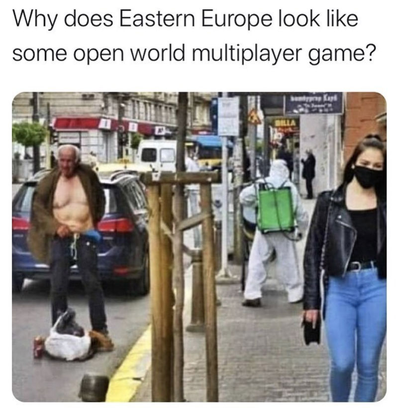 why does eastern europe