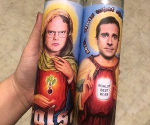 The Office Prayer Candles – The perfect prayer candle for The Office fans!