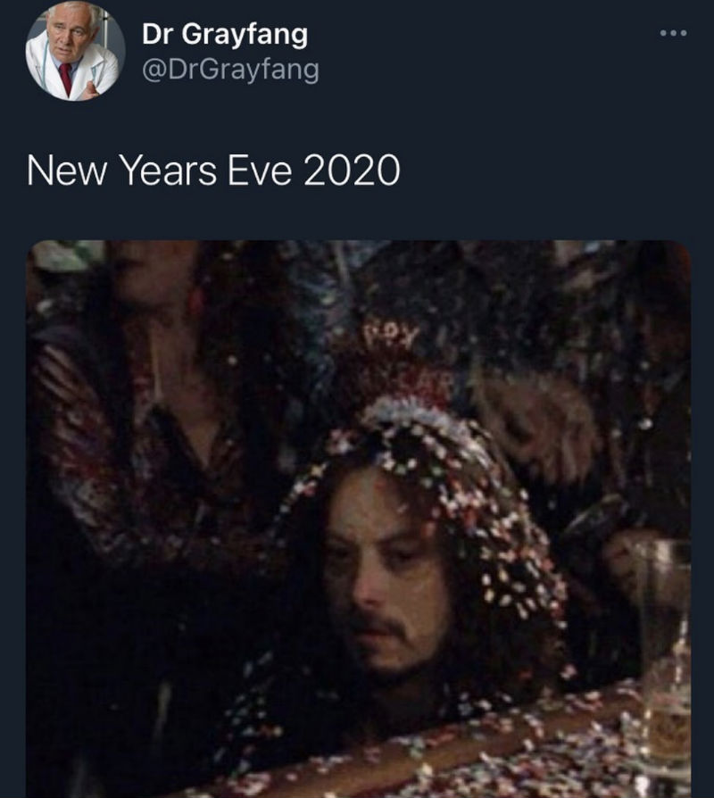 new years eve 2020 meme
