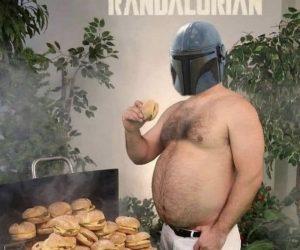 The Randalorian Meme