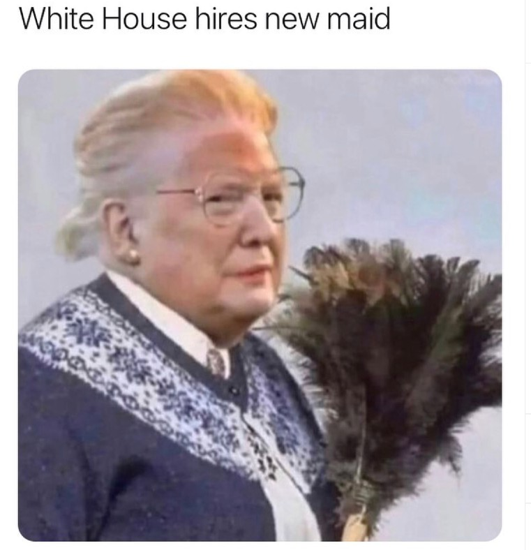 white house hires a new maid
