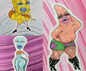 Spongebob THICCpants Stickers – You'll never look at Spongebob the same as before with these Spongebob THICCpants stickers!