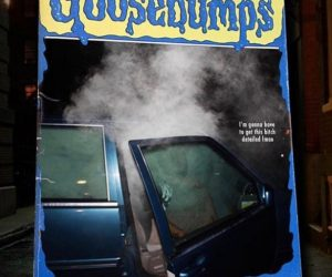 Goosebumps I Dropped The Blunt Now My Car Is On Fire – Meme
