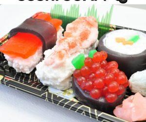 Sushi Soap –These SUSHI soaps make MISO happy!
