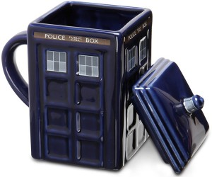 Doctor Who TARDIS Mug – *Not actually bigger on the inside