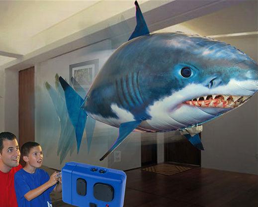 air swimmer remote control shark