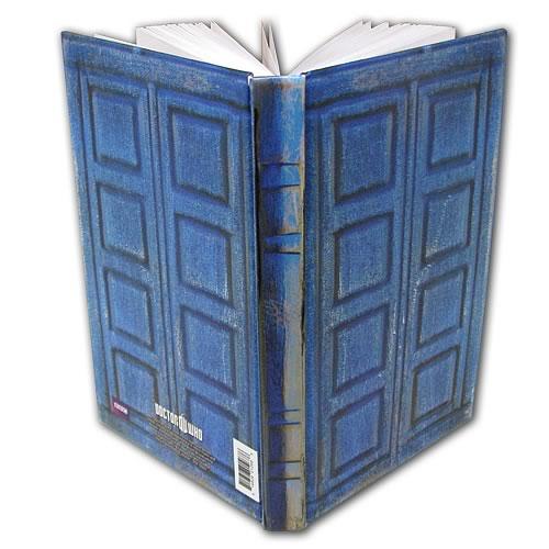 dr who tardis journal