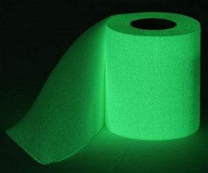 Finally you no longer have to struggle to find the lights for the bathroom in the middle of the night, all you need is this roll of glow in the