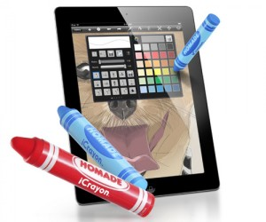 Now you can play draw something like a pro with the iCrayon Stylus pen for smartphones and tablet!
