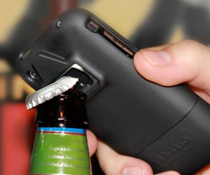 Never be without a bottle opener again, with the super cool iPhone bottle opener case.