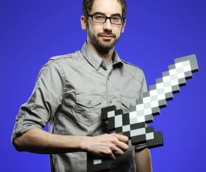 Minecraft Foam Sword – I know it's not a diamond sword but it's sort of the next best thing… foam. Don't forget to check out the minecraft pickaxe to complete