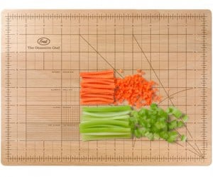 Are you obsessed with cooking? Check out the Obsessive Chef OCD cutting board to mince, chop and pare your food to the nearest millimeter…