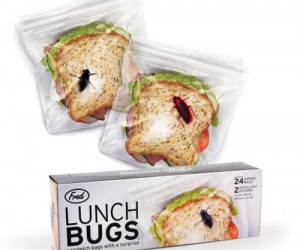 Tired of people stealing your sandwiches at work? Well let's see them try stealing your sandwich if they think there is a big bug on it with the Sandwich Bug