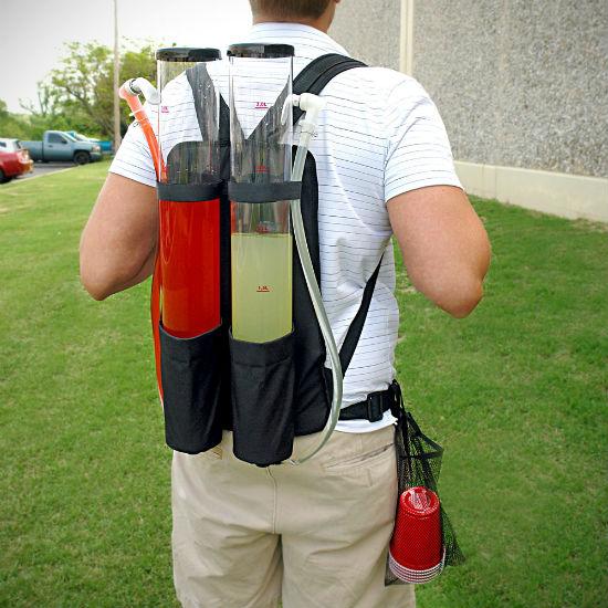 backpack drink dispenser