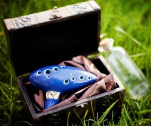 Now you can play all your favorite ocarina songs from Zelda!