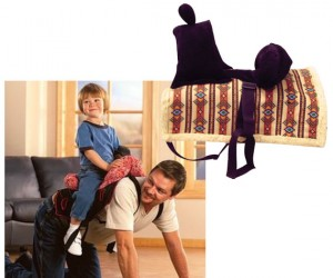 The Daddy Saddle – Not just for kids!
