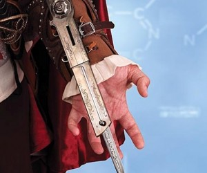 Assassins Creed Extension Knife – Now you can be just like Ezio with your very own extension knife…
