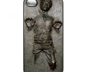 Han Solo Carbonite iPhone Case – Now you too can be just like Jabba the Hut with your very own Han Solo in carbonite