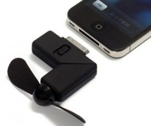 iPhone Fan – A portable fan for your iPhone why not?