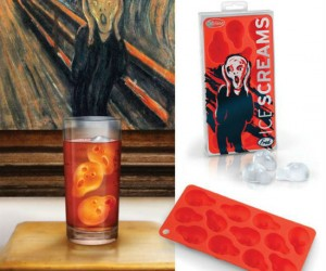 Ice Screams Ice Cube Tray – Serve up some chilling drinks with some Ice Screams ice cubes.