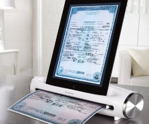 iPad Scanner: Finally a fast and easy way to scan documents from your iPad