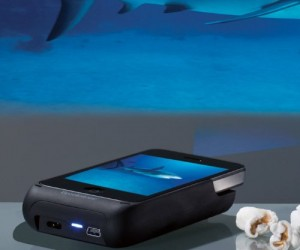 iPhone Projector – Turn your iPhone into a full blown projector with this simple attachment.