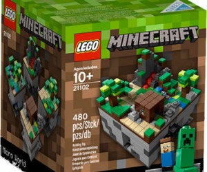 Minecraft Legos – Now you can play Minecraft in real life with the Minecraft lego set