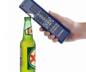 Remote Control Bottle Opener – Two of life's greatest tools combines into one