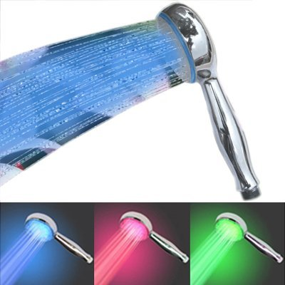 temperature controlled led showerhead